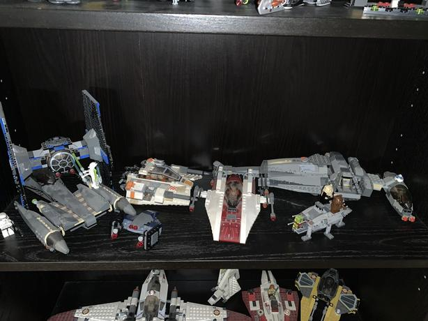 Used LEGO sets (pre-built)