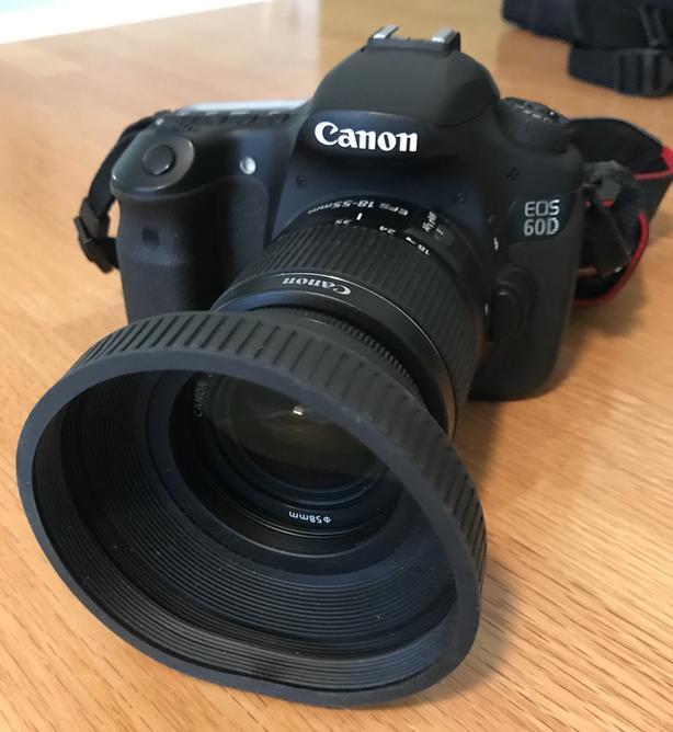 Canon EOS 60D Semi-Pro DSLR and Gear