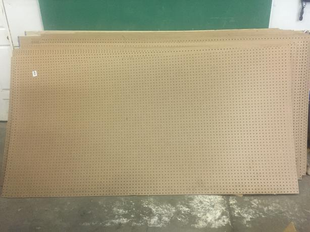 New Pegboards