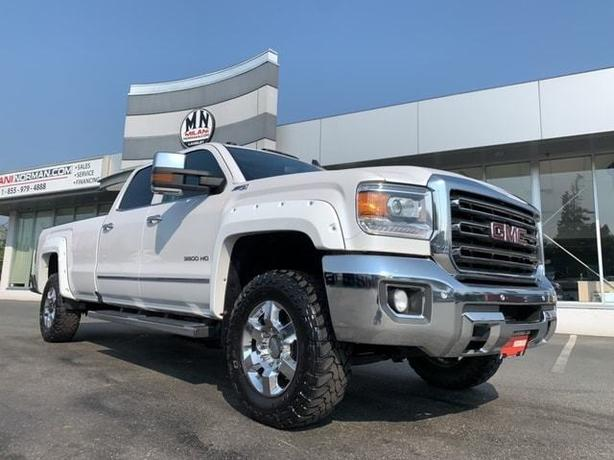 Used 2018 GMC Sierra 3500HD SLT Z71 4WD DIESEL LB LEATHER SUNROOF NAVI LOADED Tr