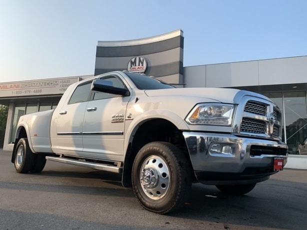 Used 2014 Ram 3500 Laramie MEGA 4WD DIESEL DRW LEVELED STUDDED TUNED Truck Mega