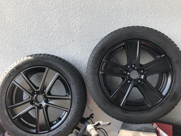 Like new Michelin tires with rtx rims