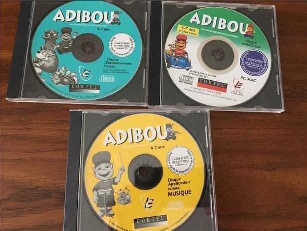 ADIBOU FRENCH CD-ROM (EN FRANÇAIS)