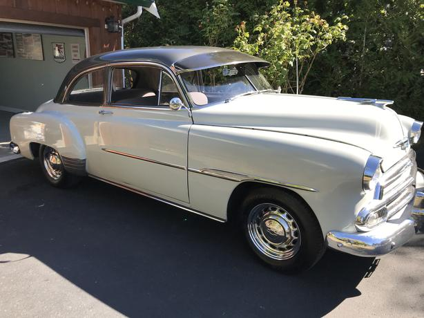 1951 Chevrolet 1951 CHEVROLET DELUXE STYLELINE SPORT COUPE