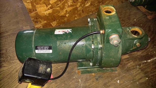 1/2 hp mcdonald jet pump