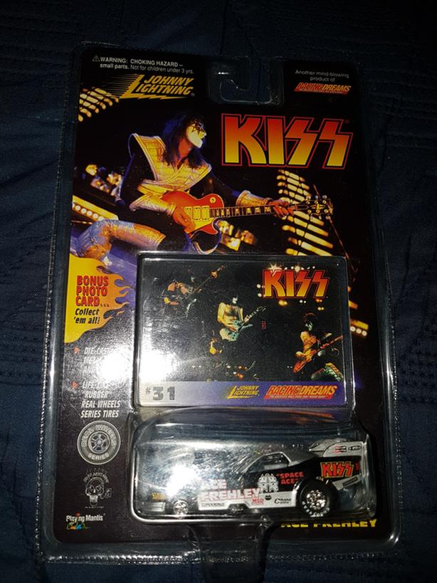 Acdc rock collectible diecast car