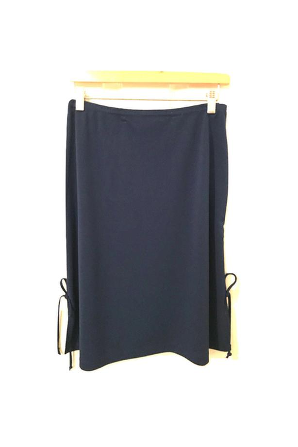 M COLLECTION Navy Blue Skirt
