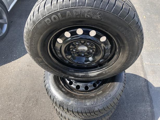 Winter tires n rims combo