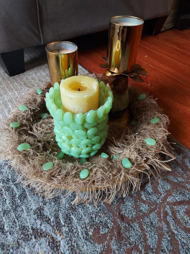 Nice candle decor