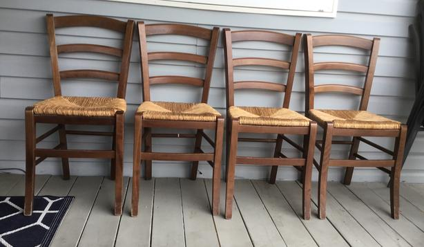 Wicker Chairs ($20/each)