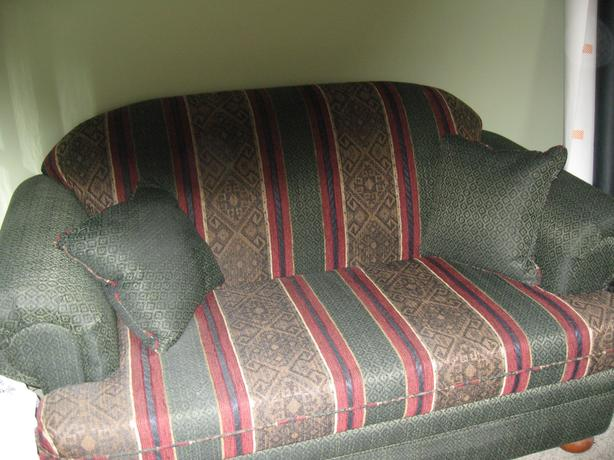 3-pce. Couch, Love Seat and chair
