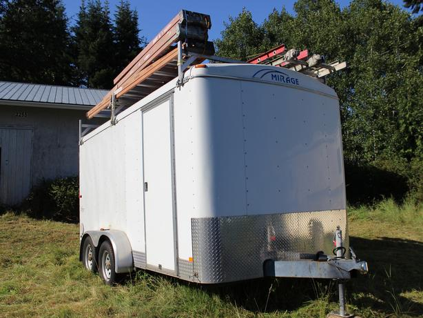 2006 Mirage 7 X 14 Cargo Trailer With Extras