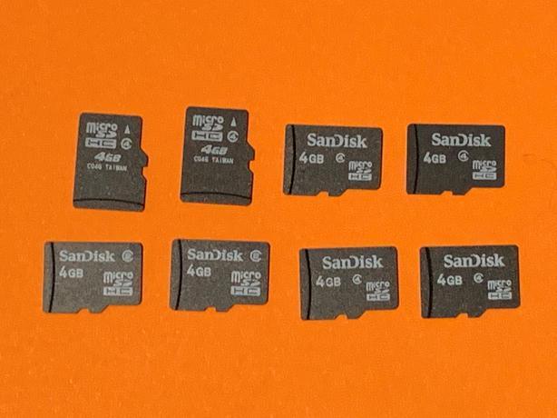 Micro SD card - 8 x 4Gb