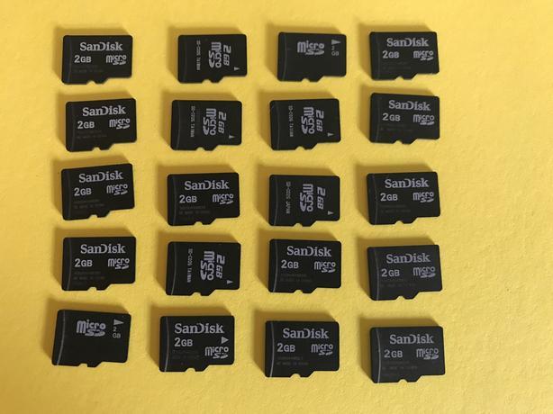 Micro SD card - 20 x 2Gb