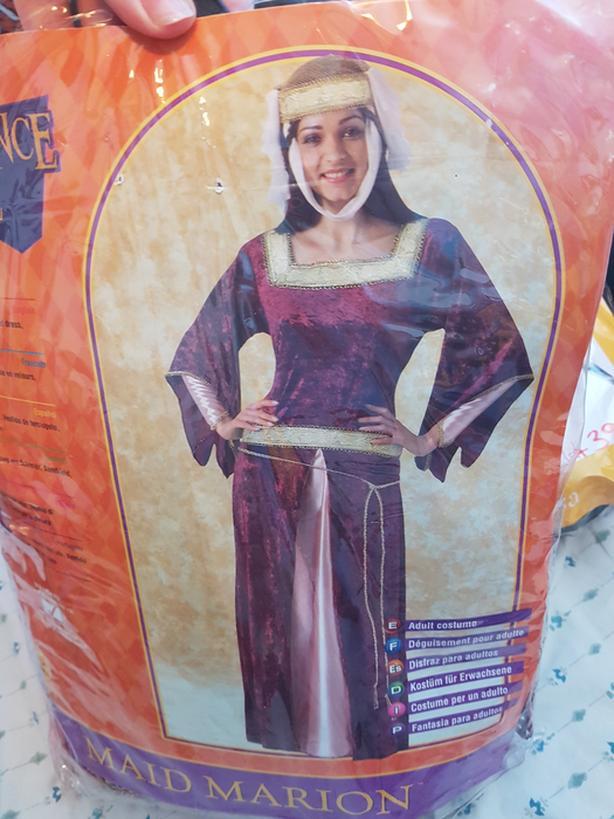 Halloween Cosplay Renaissance costume Maid Marion