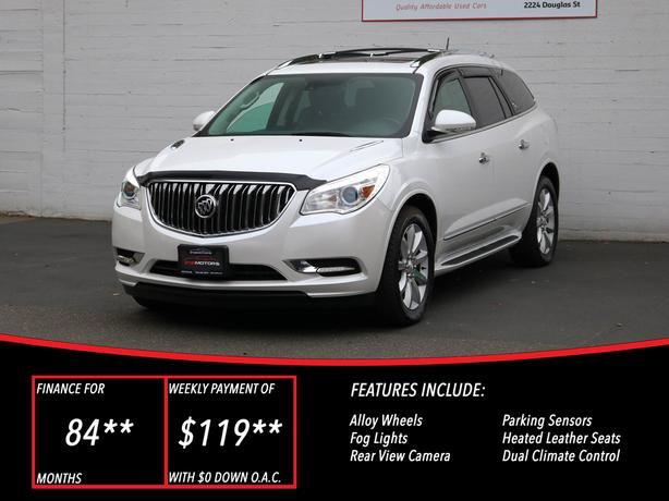 2016 Buick Enclave Premium AWD - LOCAL BC SUV - NO ACCIDENTS!