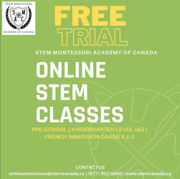 FREE 1 hour Online class for Pre-schoolers (2-3yrs)!