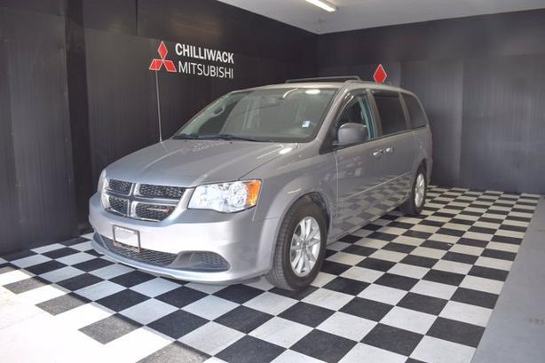 Pre-Owned 2015 Dodge Grand Caravan SXT FWD Mini-van, Passenger