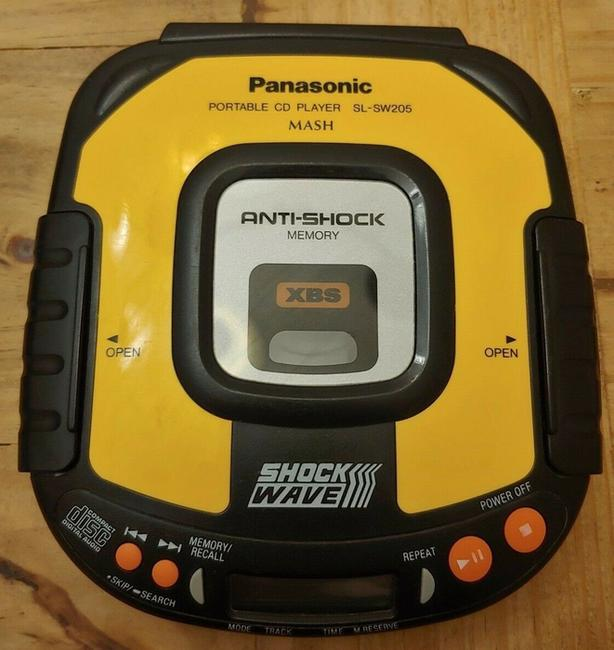 Panasonic portable CD player