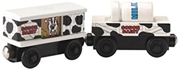 Thomas & friends wooden train milk cars