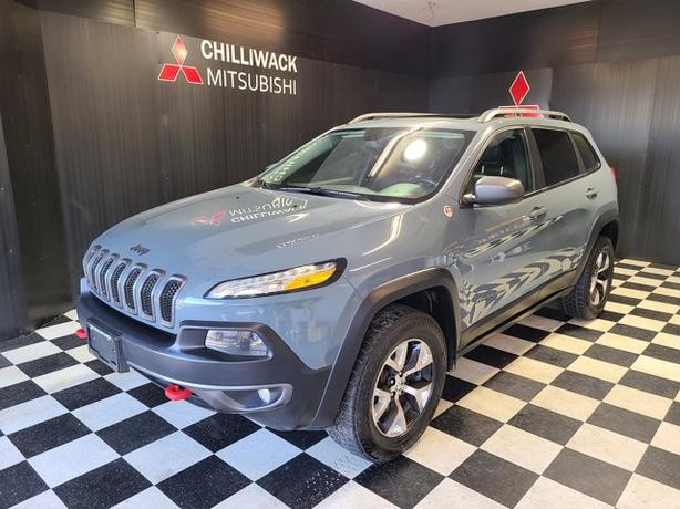 Pre-Owned 2015 Jeep Cherokee Trailhawk 4WD Sport Utility