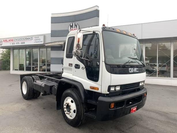 Used 2000 GMC T-Series FSL 7500 CAT MOTOR ALLISON TRANS WORK TRUCK Cab and Chass
