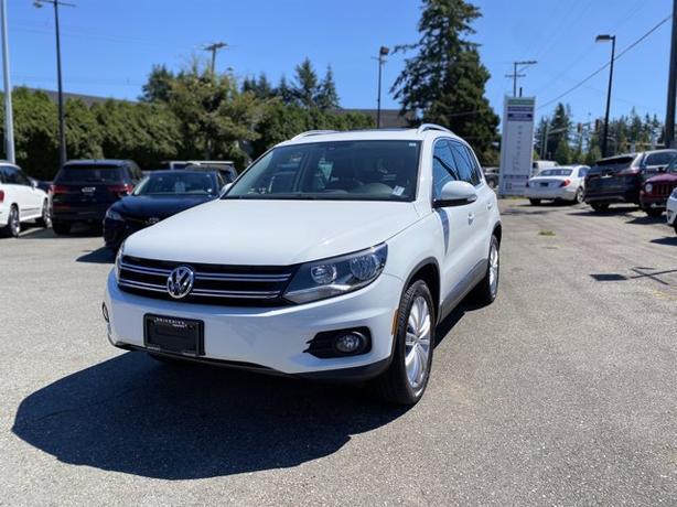 Pre-Owned 2016 Volkswagen Tiguan Highline AWD 4D Sport Utility