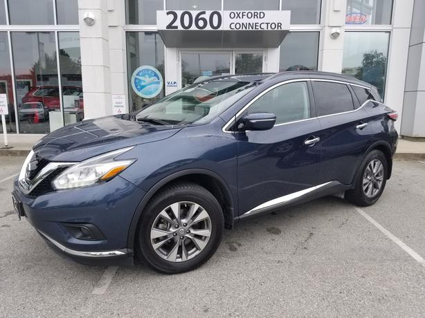 2015 Nissan Murano SV Navigation-Leather-Sunroof AWD