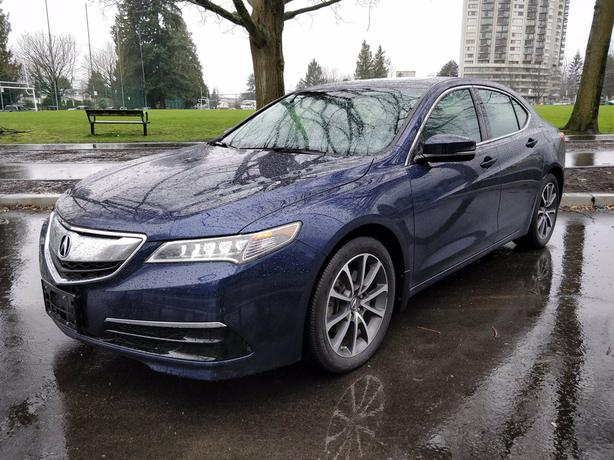 Pre-Owned 2017 Acura TLX 3.5L V6 AWD 4D Sedan