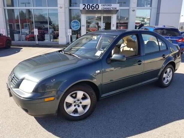 2003 Volkswagen Jetta GLS Leather-Sunroof-Automatic FWD