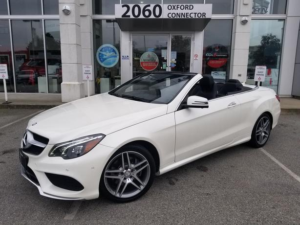 2014 Mercedes-Benz E-CLASS E 350 Convertible Navigation-Leather-Back Up Cam RWD