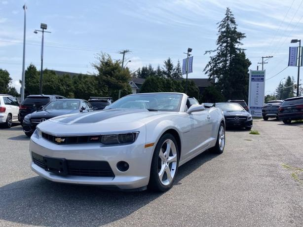 Pre-Owned 2015 Chevrolet Camaro 2LT RWD 2D Convertible