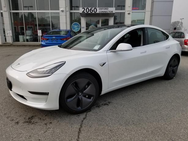 2019 TESLA MODEL 3 Standard Range Plus Navigation-Leather-Sunroof RWD