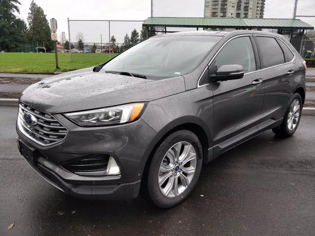 Pre-Owned 2019 Ford Edge Titanium AWD 4D Sport Utility