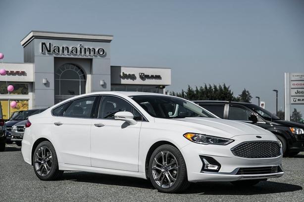 Used 2020 Ford Fusion Hybrid Titanium No Accidents Power Sunroof Sedan
