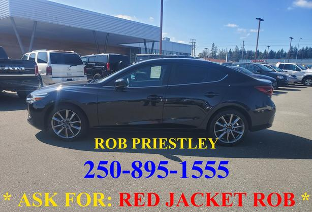 2018 MAZDA 3 GT * ask for RED JACKET ROB *