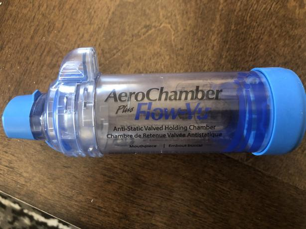 AeroChamber Plus Flow-Vu with mouthpiece -In excellent condition