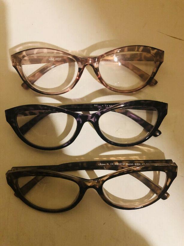 Nine West Designer Stylish Reading Glasses +1.50 3 Pack - $10