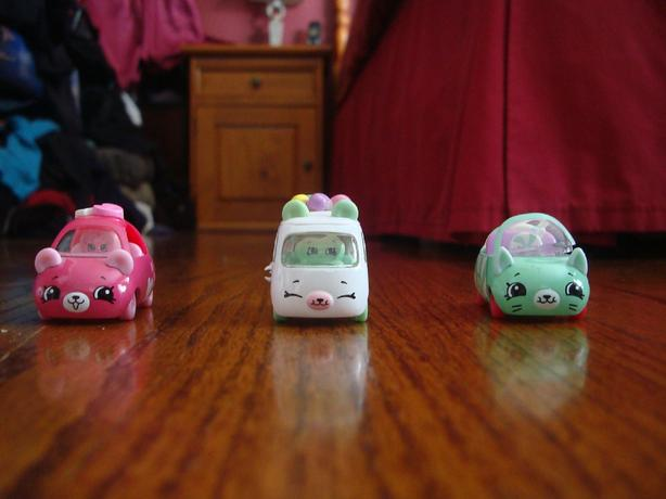 Shopkins  Cutie Car Figures – Set of 3 - $12