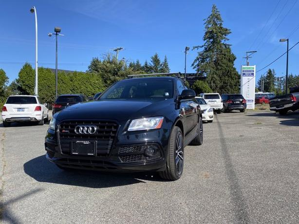 Pre-Owned 2017 Audi SQ5 3.0T Dynamic Edition quattro 4D Sport Utility