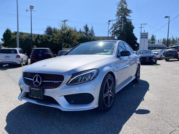 Pre-Owned 2017 Mercedes-Benz C-Class C 43 AMG 4MATIC 4D Sedan