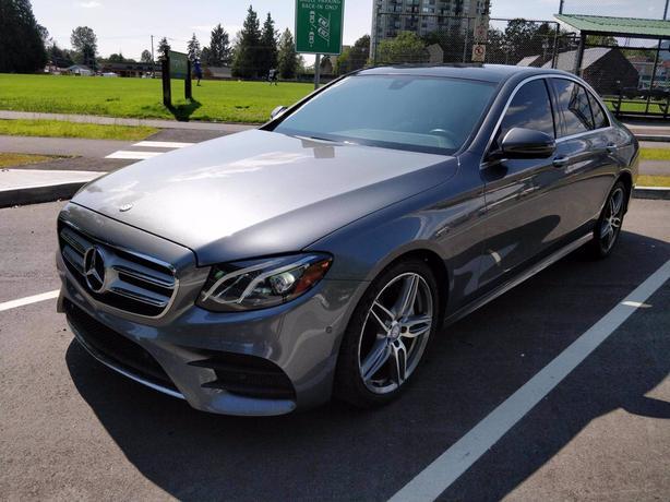 Pre-Owned 2017 Mercedes-Benz E-Class E 400 4MATIC 4D Sedan