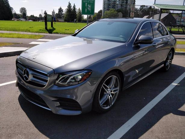 Pre-Owned 2017 Mercedes-Benz E-Class E 400 4MATIC 4D Sedan