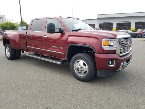 PRE-OWNED 2015 GMC SIERRA DENALI DUALLY 3500HD FOR SALE IN PARKSVILLE