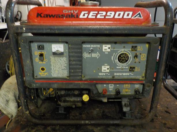 Kawasaki GE2900A Generator