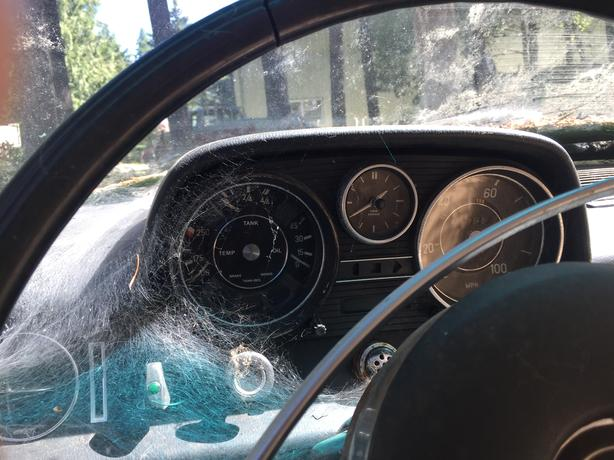 1973 Mercedes 220D