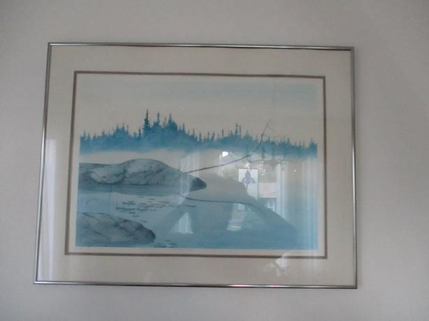 Morning Mist print by Graeme Shaw    60/295