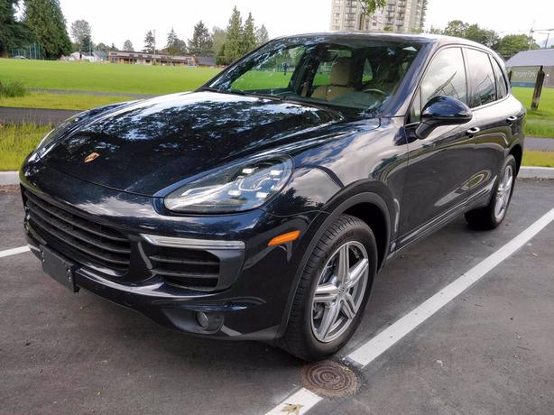 Pre-Owned 2017 Porsche Cayenne Platinum Edition AWD 4D Sport Utility