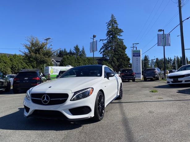 Pre-Owned 2018 Mercedes-Benz C-Class C 43 AMG 4MATIC 2D Coupe