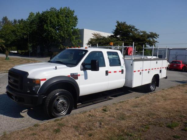 2008 Ford F-550 Crew Cab 4WD  Service Truck Dually Diesel